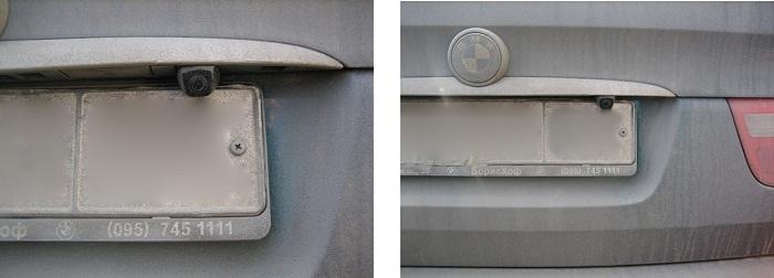 штатная камера заднего вида для БМВ X5