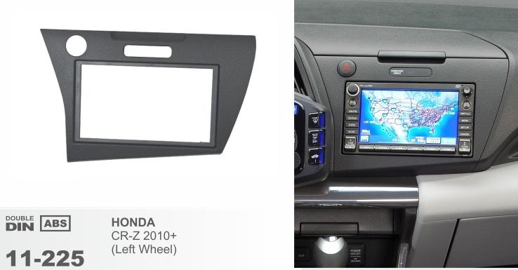 фото рамка переходная 2 дин для Хонда CRZ