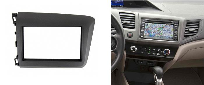 фото Рамка переходная 2дин для хонда цивик седан 2012