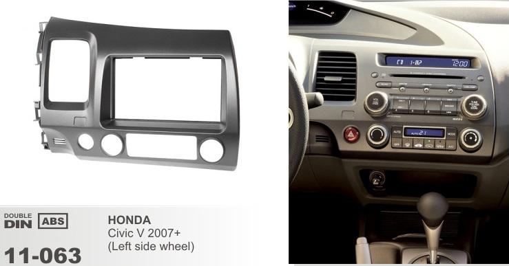 фото рамка переходная 2 дин для Хонда Аккорд 2002