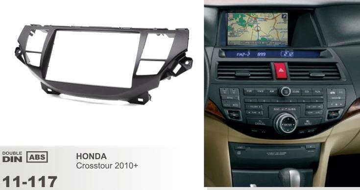 фото рамка переходная 2 дин для Хонда кросстур