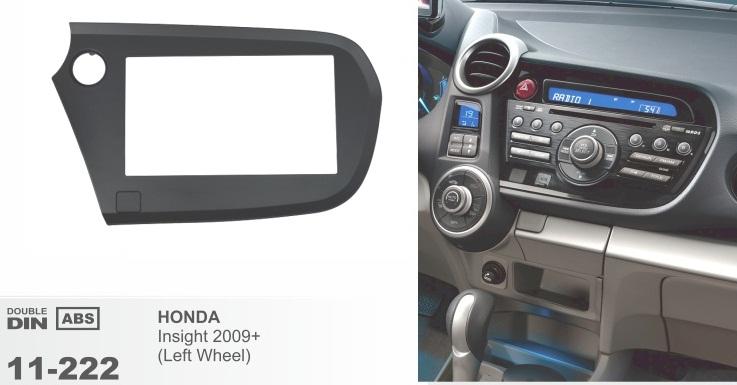 фото рамка переходная 2 дин для Хонда инсайт
