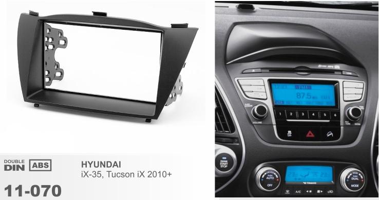 Рамка переходная 2din Hyundai iX35, Tucson New 2010+