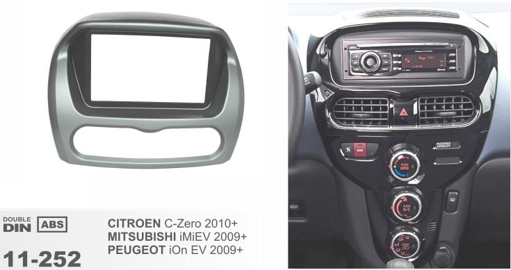 Рамка переходная 2din для Mitsubishi i MiEV 2009+