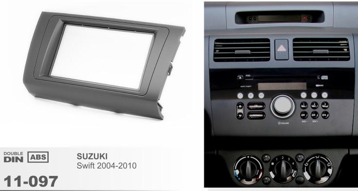 Рамка переходная 2din для Suzuki Swift 2004-2010