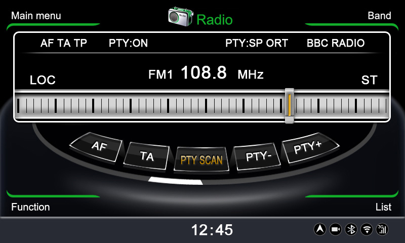 winca меню радио